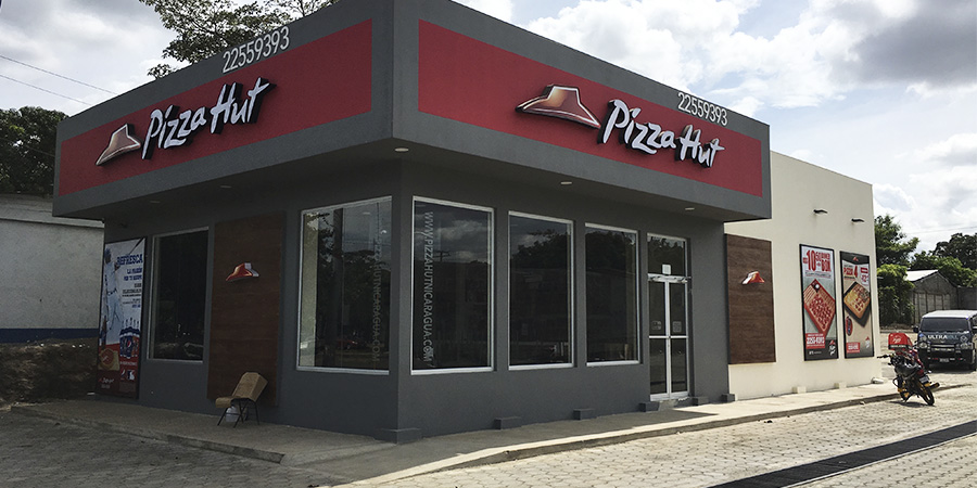 Pizza hut construccion